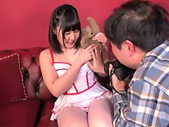 Incredible Japanese slut in Fabulous Teens, Cosplay JAV clip
