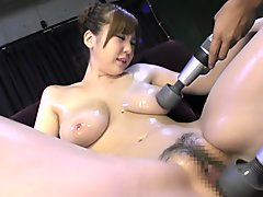Exotic Japanese slut in Crazy HD, Threesome JAV movie