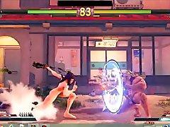 Street Fighter V Sexy Battles #17 Zeku vs Ibuki