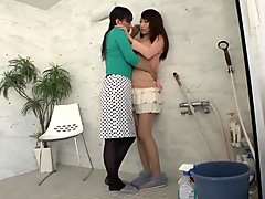 Best Japanese slut in Crazy Lesbian JAV scene