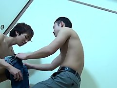 Asian twink has anal sex