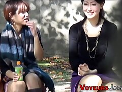 Asians watched in public