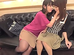 Best Japanese model in Horny HD, Strapon JAV clip
