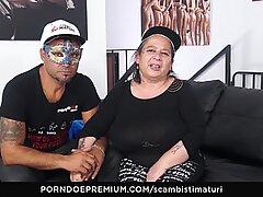 SCAMBISTI MATURI - Dirty BBW gets some deep banging