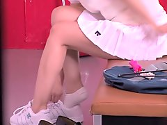 Best Japanese chick in Fabulous Changing Room, Toys JAV clip