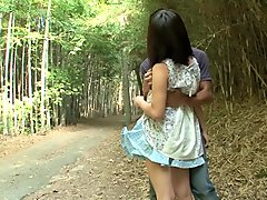 Horny Japanese chick in Exotic Outdoor, HD JAV video