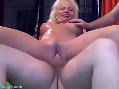 67 years old mom group banged