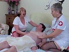 AgedLovE British Matures Hardcore Threesome